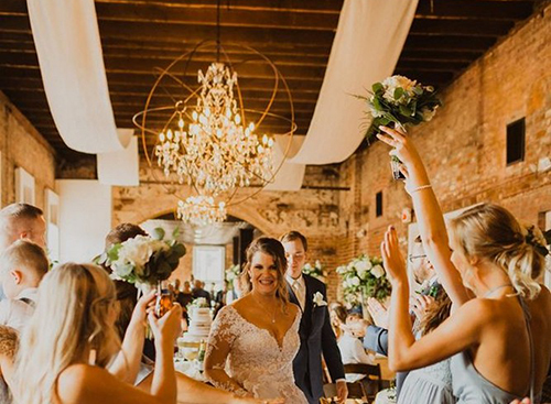 Real Wedding:The Gesslin Wedding at The Depot Warehouse in Columbus MS